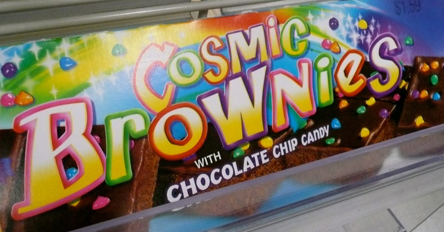 Buttery Worms Found in Cosmic Brownies of Little Debbie