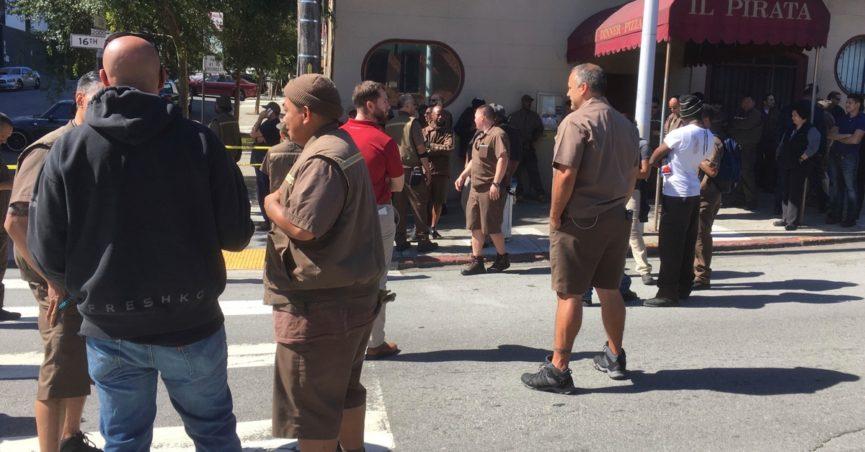 shooting at UPS facility