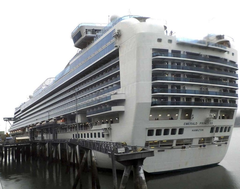 A Suspect Arrested after the Death of a woman aboard on Emerald Princess Cruise Ship: FBI