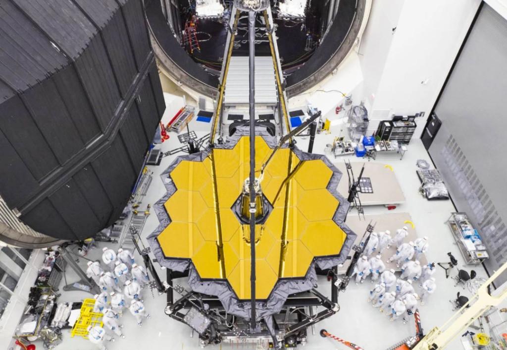 JWST Telescope of NASA