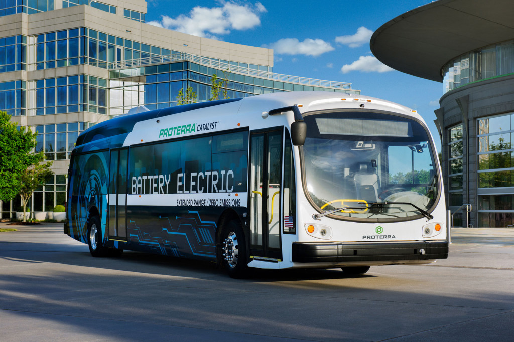 LA orders 25 electric buses of Proterra